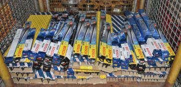 Various Bosch wiper blades - see pictures for makes & models