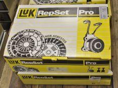 2x LUK Repset Pro Clutch Kits - Models - 623 3402 35 & 624 3171 33
