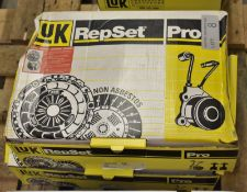 2x LUK Repset Pro Clutch Kits - Models - 623 3155 33 & 624 3339 33