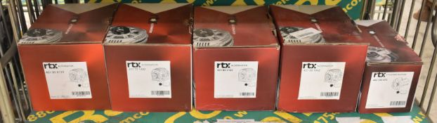 4x RTX Alternators & 1x RTX Starter Motor - Please see pictures for model numbers