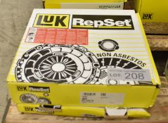 2x LUK Repset 624 3352 09 Clutch Kits