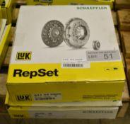 2x LUK Schaeffler Repset Clutch Kits - Models - 641 44 2920 & 623 3274 00