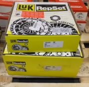 2x LUK Repset Clutch Kits - Models - 624 3183 00 & 624 3551 00