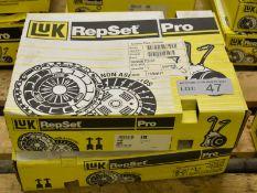 2x LUK 622 3180 33 Repset Pro Clutch Kits