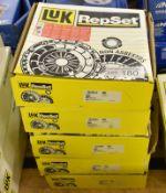 5x LUK RepSet - Clutch kits - 624 3562 00, 626 3042 09, 626 3036 09, 626 3033 09, 626 3034