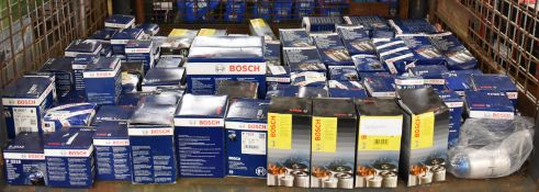Bosch fuel, oil filters - see pictures for makes & models
