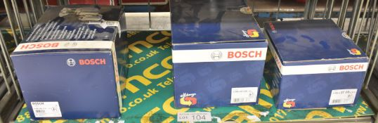 2x Bosch Common Rail High-pressure Pumps - 0 986 4 37 00, 0 986 437 028 & 1x Bosch Electri