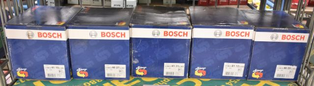 5x Bosch Alternators - Please see pictures for model numbers