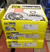 3x LUK Repset Clutch Kits - Models - 620 3247 00, 621 3045 09 & 618 3096 00
