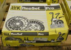 2x LUK Repset Pro Clutch Kits - Models - 624 3034 34 & 622 3151 34