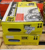 2x LUK Repset Pro Clutch Kits - Models - 637 22 0830 & 623 312 334