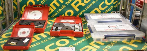2x Andrew Page TPMS Service Kits, AST AST4520A Twin Cam Petrol Engine Setting Locking Kit,
