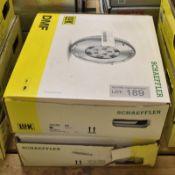2x LUK Schaeffler Dual Mass Flywheels - 415 0484 10 & 415 0677 10