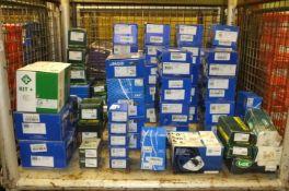 Brake Calipers, Wheel Bearing Kits, Brake Shoes, Water Pumps, Wheel Cylinders, Tensioner K