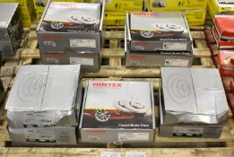Mintex Coated & LPR Brake Disc Sets - Please see pictures for examples of model numbers