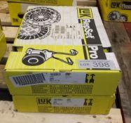 2x LUK Repset Pro Clutch Kits - Models - 620 3117 33 & 621 3042 33