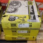3x LUK Repset Pro Clutch Kits - Models - 623 3113 33 x2, 623 3131 33