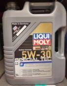 3x Liqui Moly 5W-30 Special Tec HC Synthetic Motor Oil - 5L
