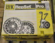 2x LUK Repset Pro Clutch Kits - Models - 624 3276 33 & 623 3124 33