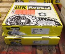 2x LUK Repset Clutch Kits - Models - 624 3318 09 & 624 3728 09