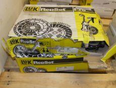 2x LUK Repset Pro Clutch Kits - Models - 624 3312 34 & 624 3247 33