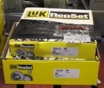 2x LUK Repset Clutch Kits - Models - 621 3065 00 & 620 3234 00