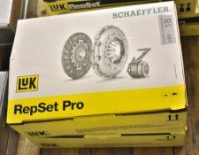 2x LUK Schaeffler Repset Pro Clutch Kits - Models - 624 3178 34 & 624 3261 33