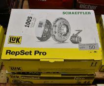 2x LUK Repset Pro Clutch Kits (1x Schaeffler) - Models - 622 3152 33 & 623 3199 33