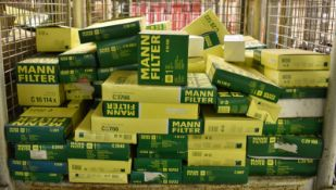 Mann Filters - see pictures for makes & models