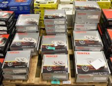 Mintex brake disc sets - Please see pictures for examples of model numbers