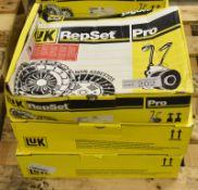 3x LUK Repset Pro Clutch Kits (2x Schaeffler) - Models - 625 3071 33, 624 3352 33 & 624 33