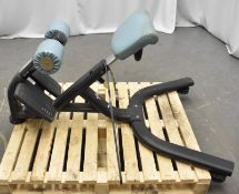 Pulse Fitness Lower back extension Bench
