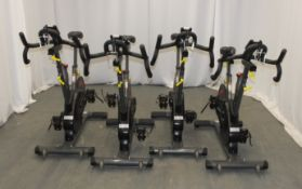 4x Sports Art Fitness C530 Indoor Cycles