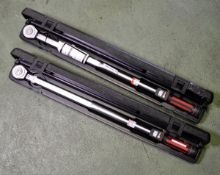 2x Norbar 330 Torque Wrenches 45-250 ibf ft