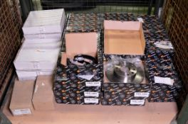 Vehicle parts - brake discs, brake shoe sets - see picture for itinerary for model numbers