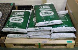 Elcef Fibre universal absorbant - 20LTR bags - 10 bags
