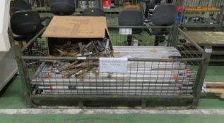 Aluminium Poles - LONGSPAN NOT INCLUDED