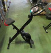 Viavito Onyx foldable exercise bike