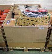 Vehicle parts - RH headlamp assemblies, RH rear lamps, window regulators RH - see picture