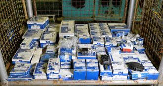 Vehicle parts - relays, cross joints, thermostat, fuel filters, oil dipstick, water pump,