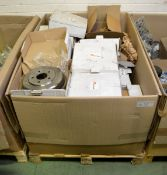 Vehicle parts - brake drums - see picture for itinerary for model numbers and quantities -