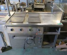 Ambach 8E11UBE/80 Electric Range Cooker - 400v - L 1200mm x D 900mm x H 920mm