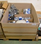 Vehicle parts - bulbs, O-rings, grease nipples, tensioners, stud bolts, rubber pedals, plu