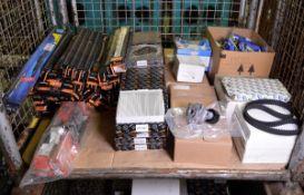 Vehicle parts - belt tensioner, V ribbed belts, wiper blades, glow plugs, timing belts, ca