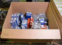 Vehicle parts - injector, kingpin repair kit, thermostat, cab tilt pump, shock absorber, e