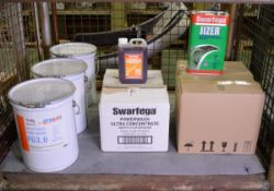 Swarfega Jizer water rinsable parts degreaser 5LTR x 8, Swarfega powerwash ultra concentra