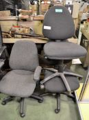 3x Office Chairs