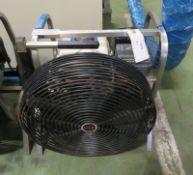 R.W.M Portable Petrol Blower Fan, Honda GX 160 5.5hp