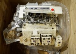 Compair P100 H Series Reciprocating Compressor - Incomplete - AS SPARES