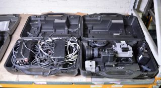 Panasonic F15HS ENG Camera with cables & accessories, 2 cases